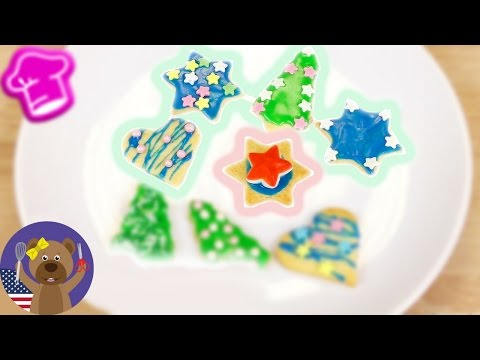 Cookie Frosting and Decorating | Cookies with Frosting, Sprinkles and More | DIY Decorative Baking
