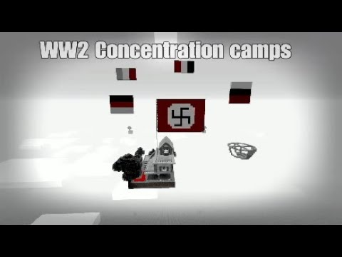 WW2 MINECRAFT Concentration camps