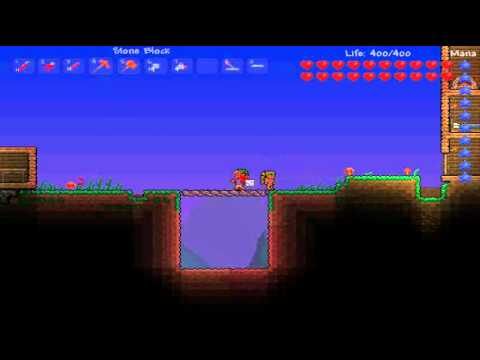 Terraria 1.1: How to Make a Red Wire Trapdoor