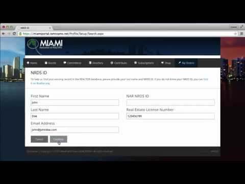How to fill out the Online New Member Application - Video Tutorial