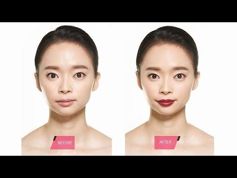 Easy way to apply burgundy lipstick - 버건디 립 쉽게 바르기