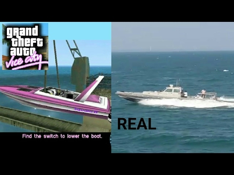 GTA - Vice City's Fastest Boat is Real !!!