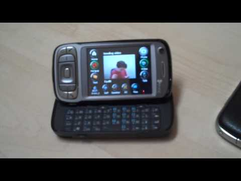 Video chat on a cell phone over 3G - demo