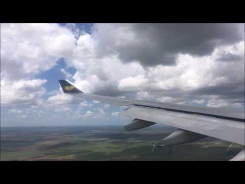 Landing in Holguin, Cuba Thomas Cook A330 from London Gatwick