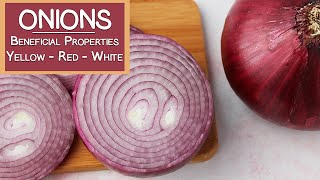 Onions and Their Beneficial Properties   Yellow, Red & White