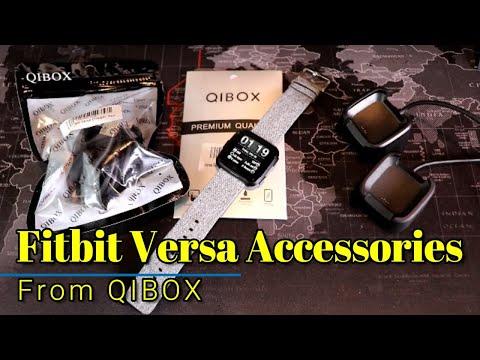 Fitbit Versa - Awesome budget friendly accessories from Qibox!