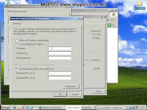 How put Static IP Windows XP