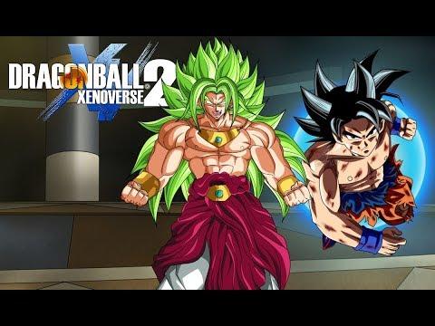 Goku Ultra Instinct Contre Broly God ! - Mods Dragon ball Xenoverse 2