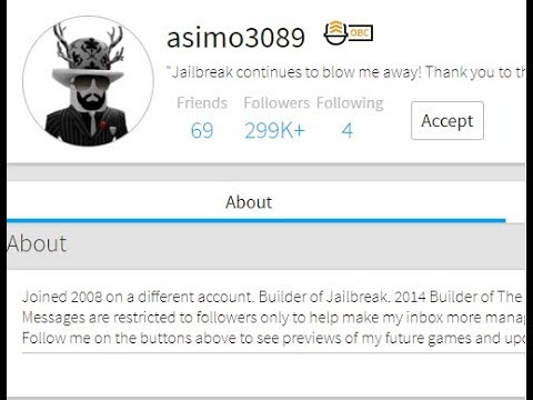 ASIMO SENT ME A FRIEND REQUEST! How to get a friend request from asimo3089