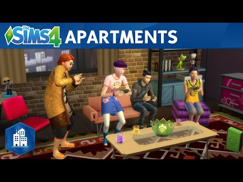 The Sims 4 City Living: Official Apartments Trailer