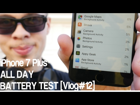 iPhone 7 Plus All Day Battery Test [VLOG#12]