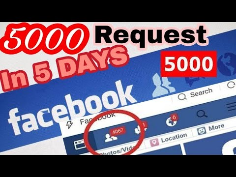 5000 friends request on Facebook in 5 days || Hindi || 2018