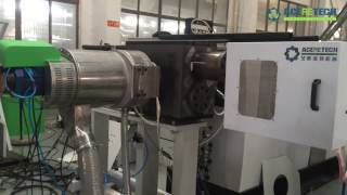 Non-stop double-plate four-station screen changer