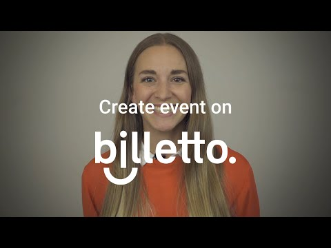 How to sell event tickets with your own event page | Billetto