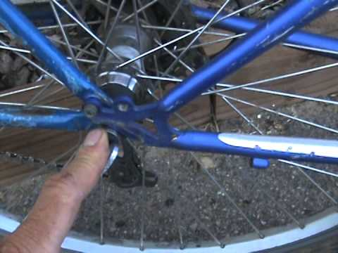 How to build a bike trailer hitch