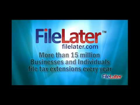 Filing an Income Tax Extension is EASY with FileLater