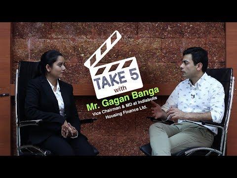 Take 5 with GIM Alumnus Mr. Gagan Banga, Vice Chairman & MD at Indiabulls Housing Finance Ltd.