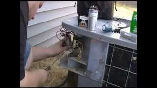Capacitor How To Fix Your Ac Capacitor And Contactor Replacement