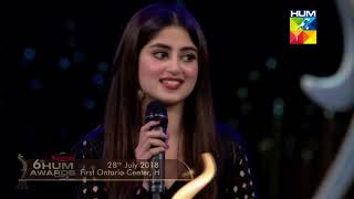 Emotions Tells a Story  Moments Make a Journey Kashmir 6th HUM Awards 2018