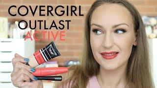 Covergirl Outlast Active Range Wear Test   Oily Skin
