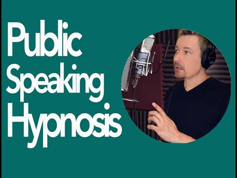 Overcome Fear of Public Speaking Free Hypnosis Download by Dr. Steve G. Jones