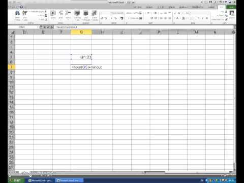 excel2014 07 11 converting time to decimal value