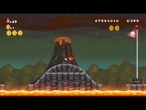 New Super Mario Bros Wii - All Secret Exit Locations