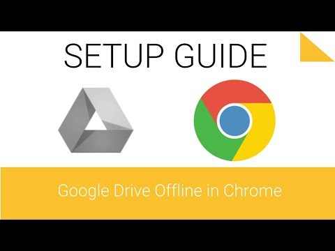 Access your files offline on a computer in Drive - 2.3 - Getting Started with Google Drive Series