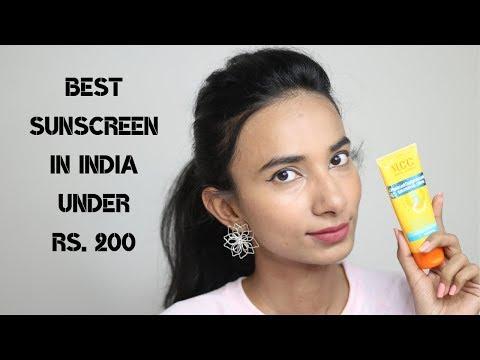 Best Sunscreen in India Under Rs. 200 for Men/Women| चेहरे पर सनस्क्रीन कैसे लगाएं ? VLCC Sunscreen