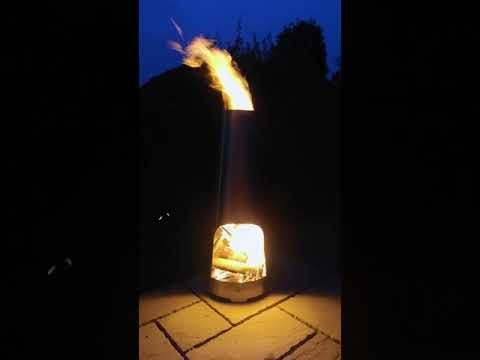 Stainless Steel Chiminea 3