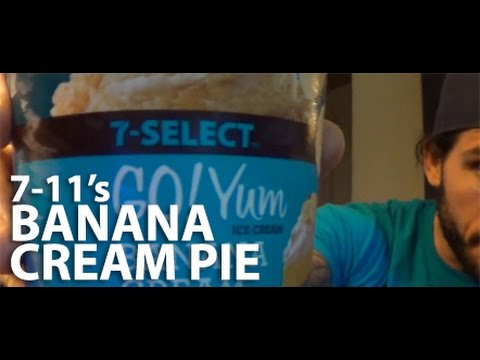REVIEW: 7 11's Banana Cream Pie