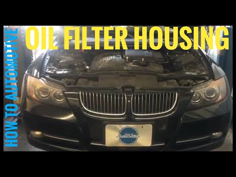 How to Replace the Oil Filter Housing Gasket and the Oil Cooler Gasket on a 2007-2010 BMW  335i N54