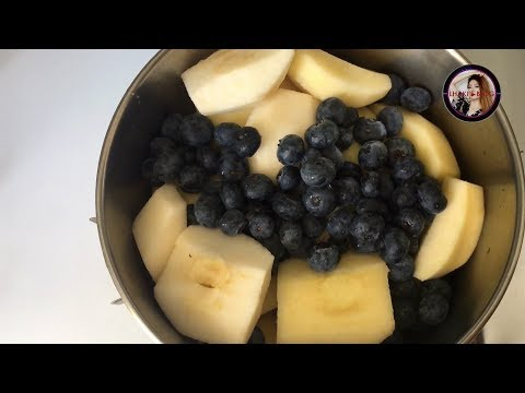 How I make apple sauce & popsicles    easy & quick way    full HD