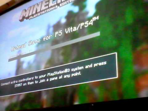 How to transfer PS3 mincraft save to PS4 - LGP