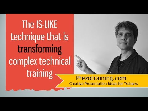 The IS-LIKE technique that is transforming complex technical training