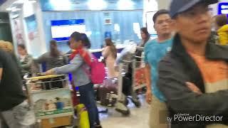 Arriving at Manila 2019 NAIA  Terminal 3