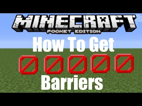 How to get Barrier Blocks In minecraft PE 1.0.5 / 1.0.6/1.1/1.1.1/1.1.2/1.1.3/1.2 MCPE Secret Blocks