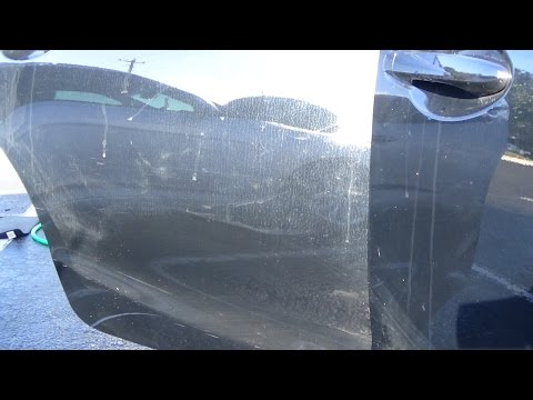 Remove Hard Water Spots from Car