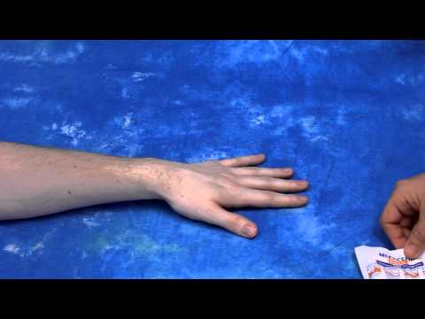 How to buddy splint a child's hurt finger