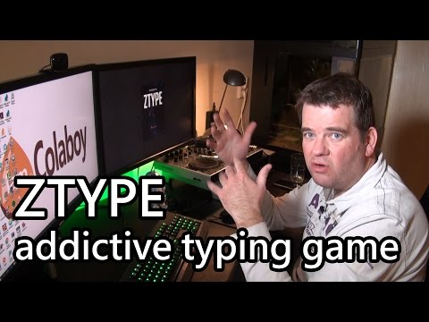 ZTYPE a fun and addictive typing game