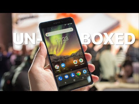 Nokia 6.1 (2018) Unboxing and First Look!