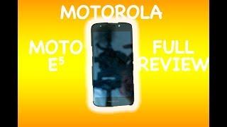 Motorola Moto E5 Play Full Review