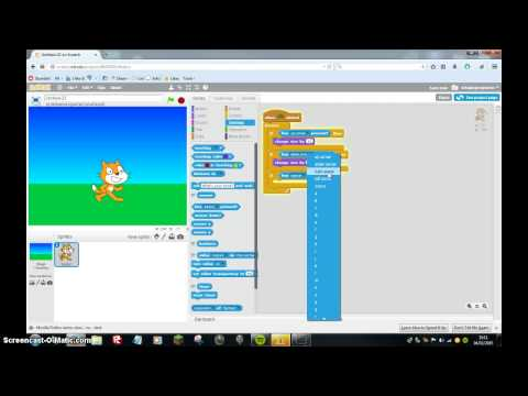 How to make a 3D game on scratch easy|scratch #1