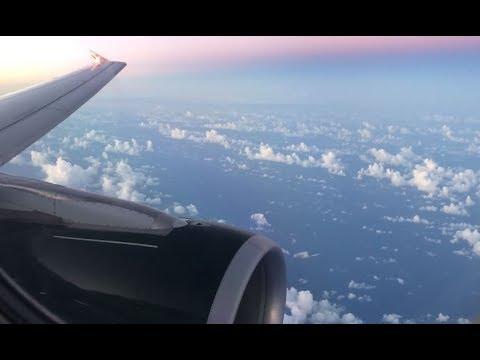 4K Beautiful flight from San Juan to Miami - Frontier A320