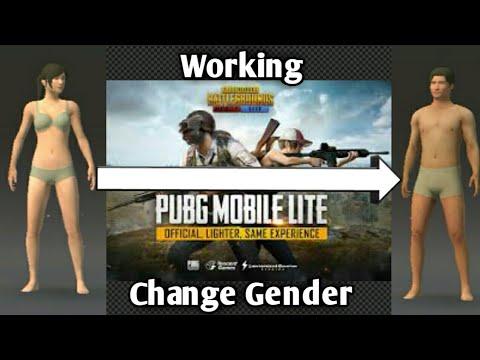 Change your gender in pubg mobile lite   Working   FahimIsBest  