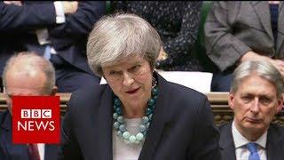Theresa May calls off MPs