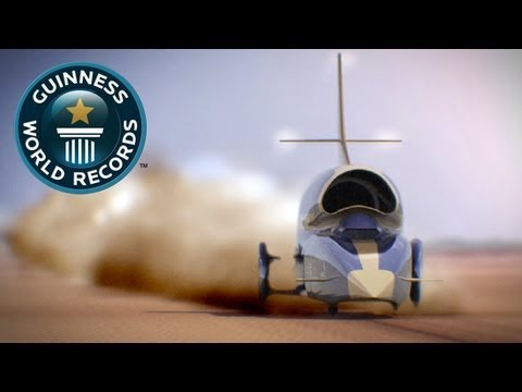 The 1,000mph Car, Inside Bloodhound SSC - Guinness World Records