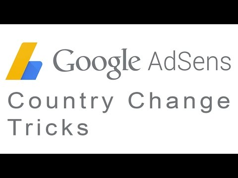 How to Change Country or address in Google Adsense Account 2016-17   &25 hf4hs