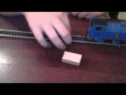 How to make a homemade hornby track cleaner/rubber