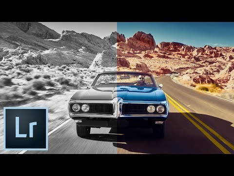 COLORIZE a Black and White Photo Lightroom Tutorial